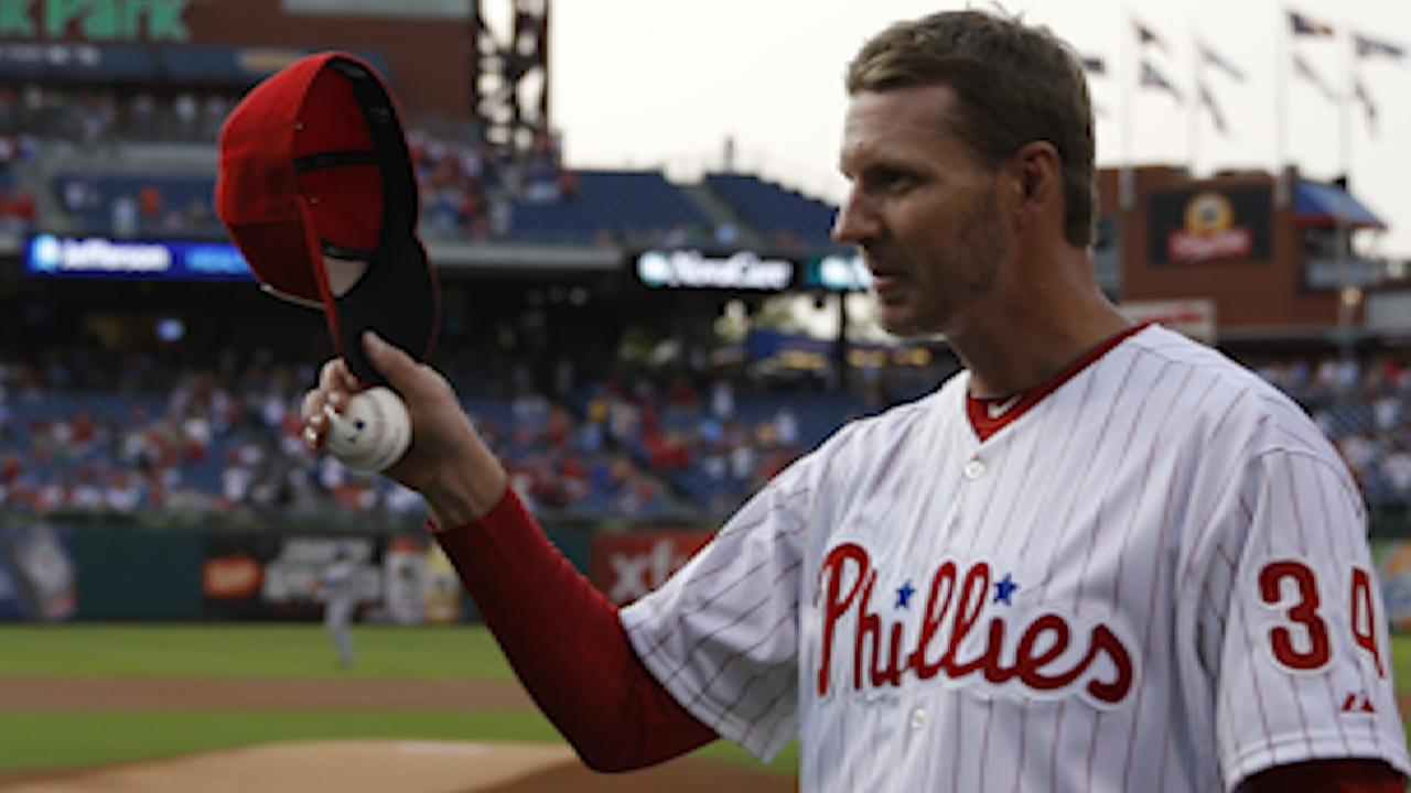 Halladay's Phillies career