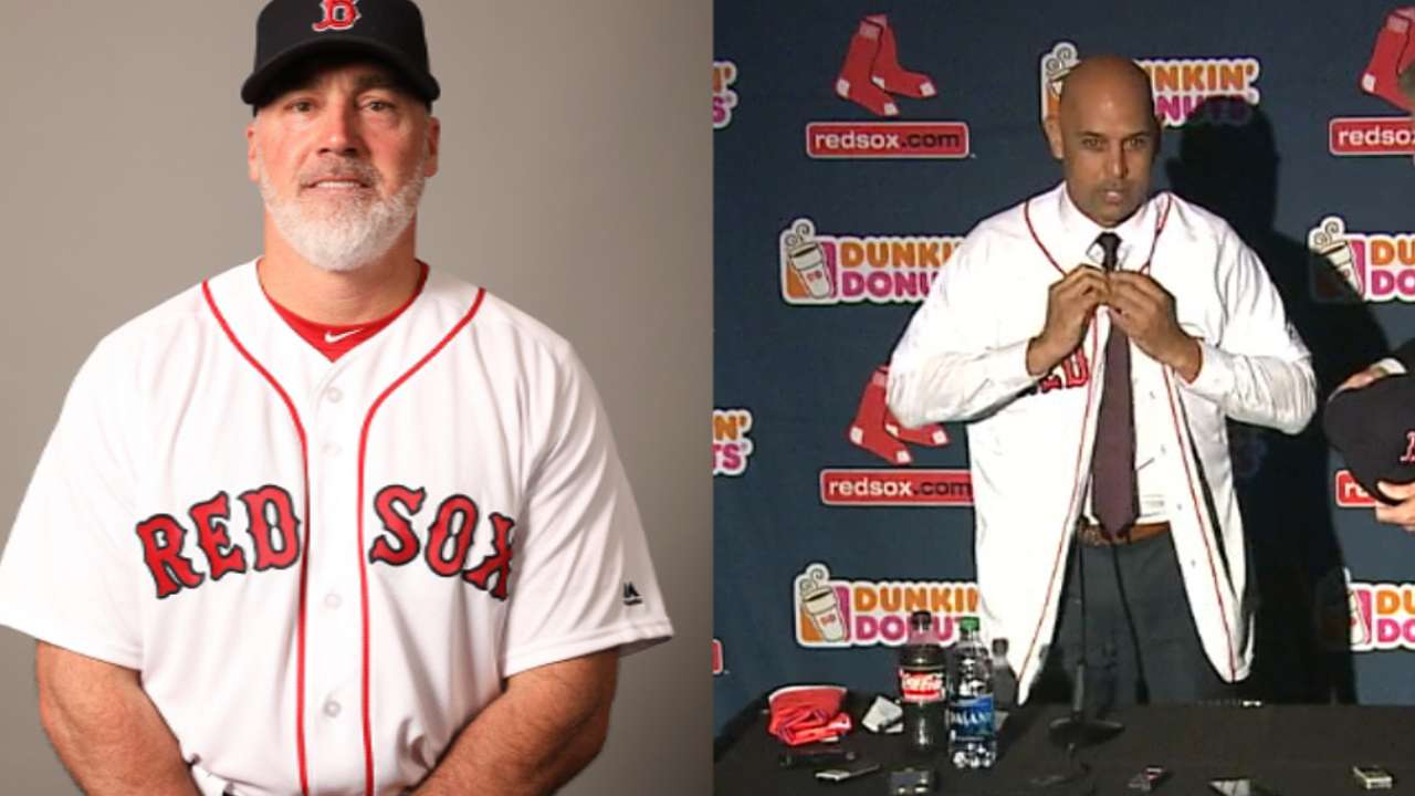 Red Sox announce trio of coaching hires