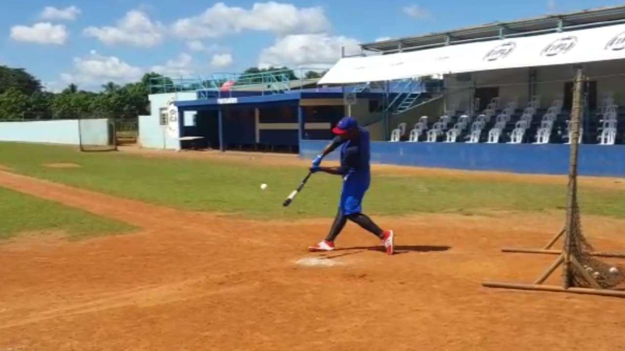 Cuban OF Martinez in Haiti ahead of showcase