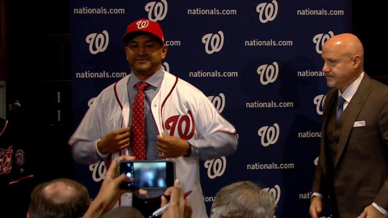 Nats finalize coaching staff with Blanco