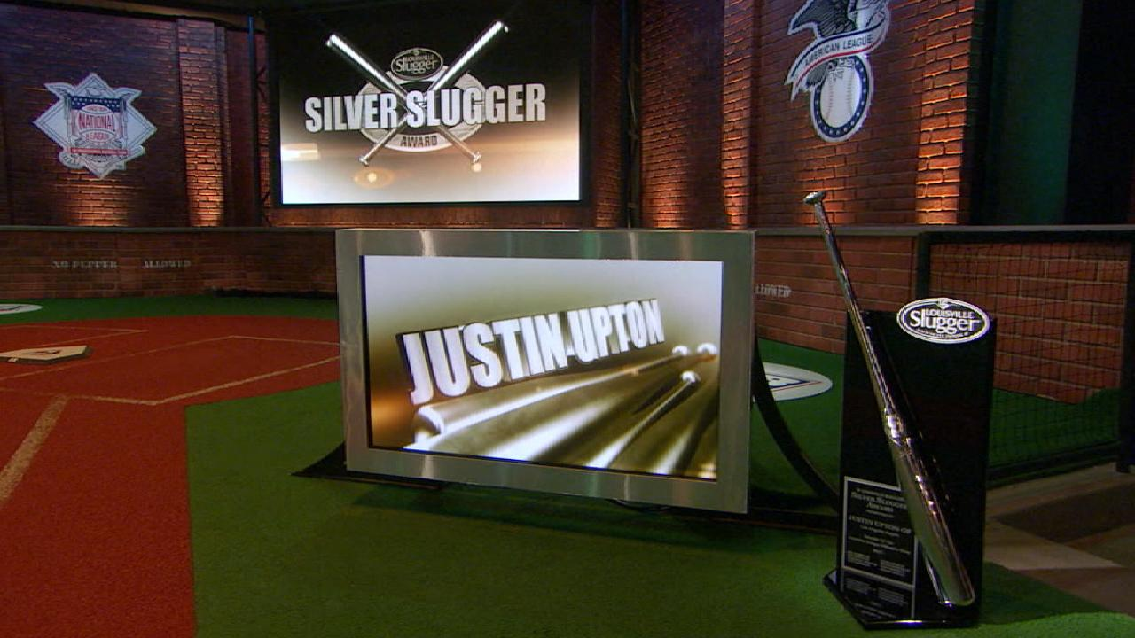 Upton wins third career Silver Slugger Award