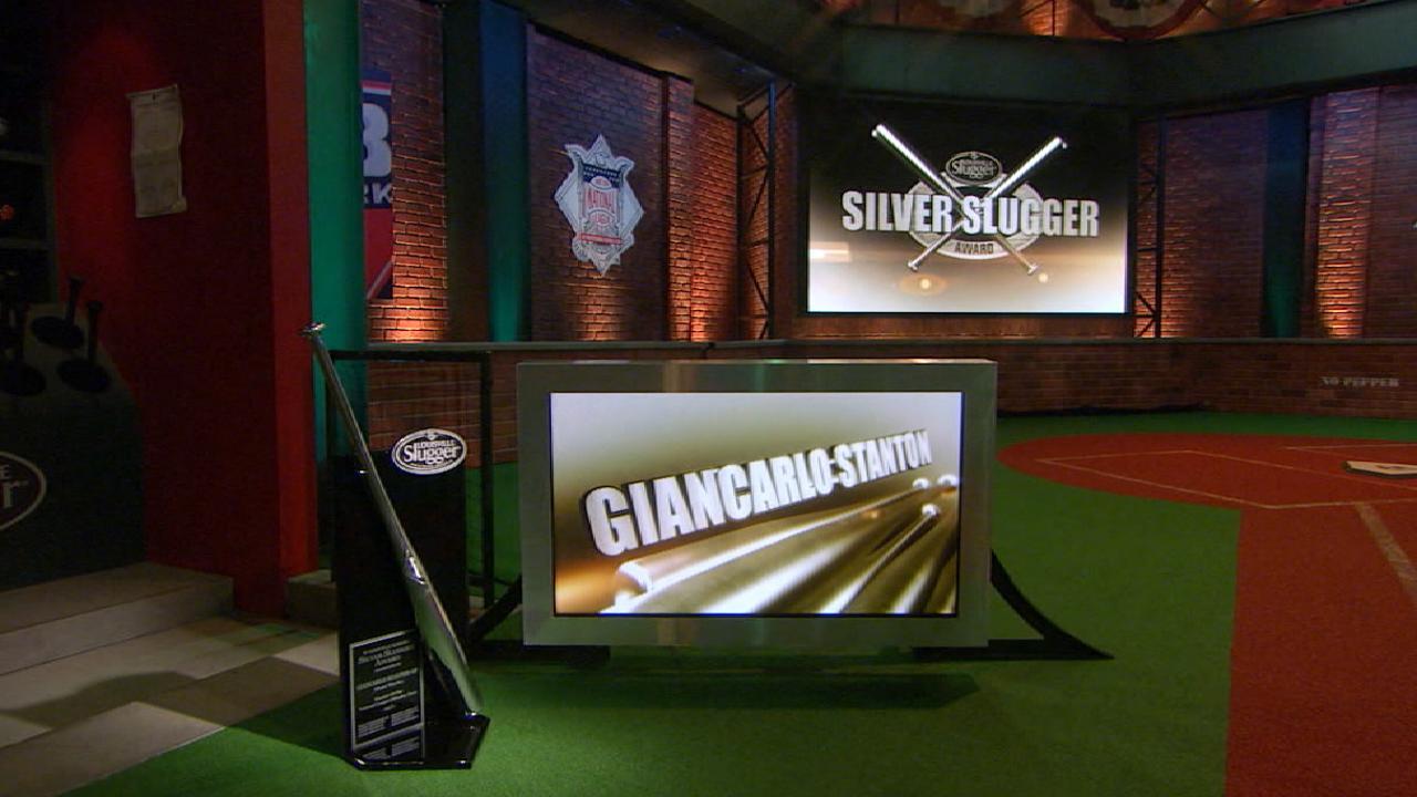 Stanton wins Silver Slugger