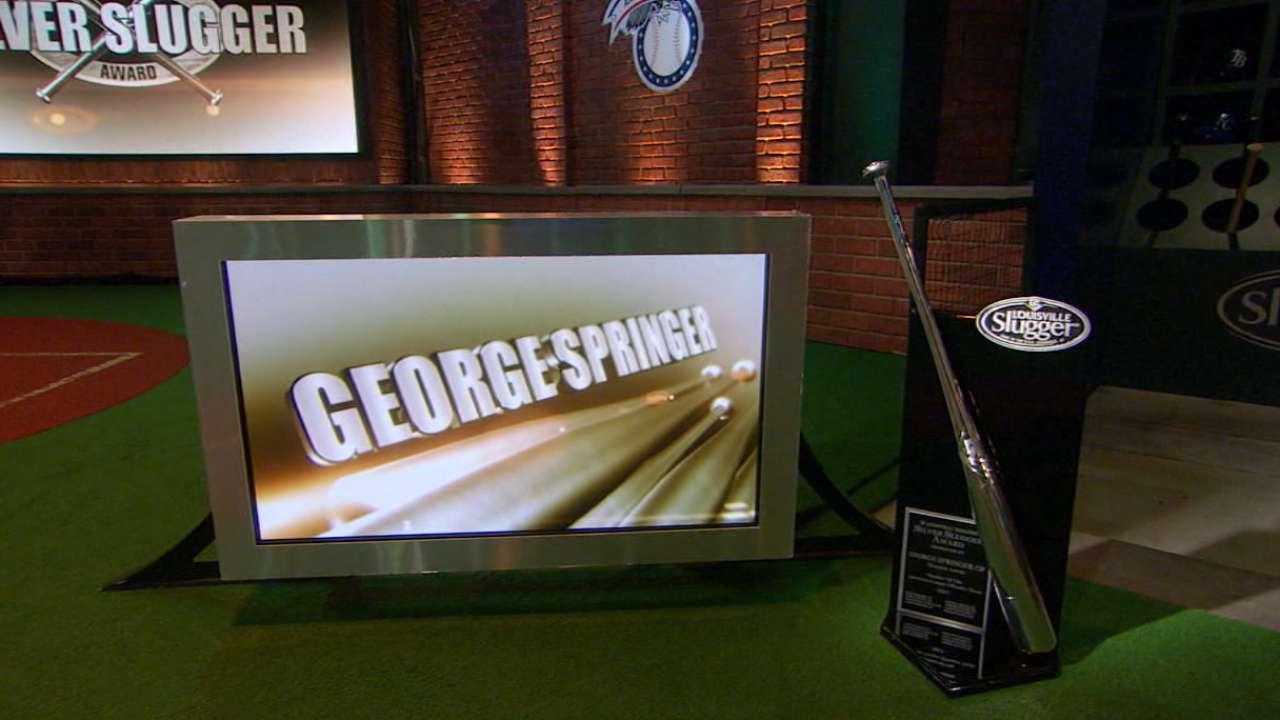 Springer wins Silver Slugger
