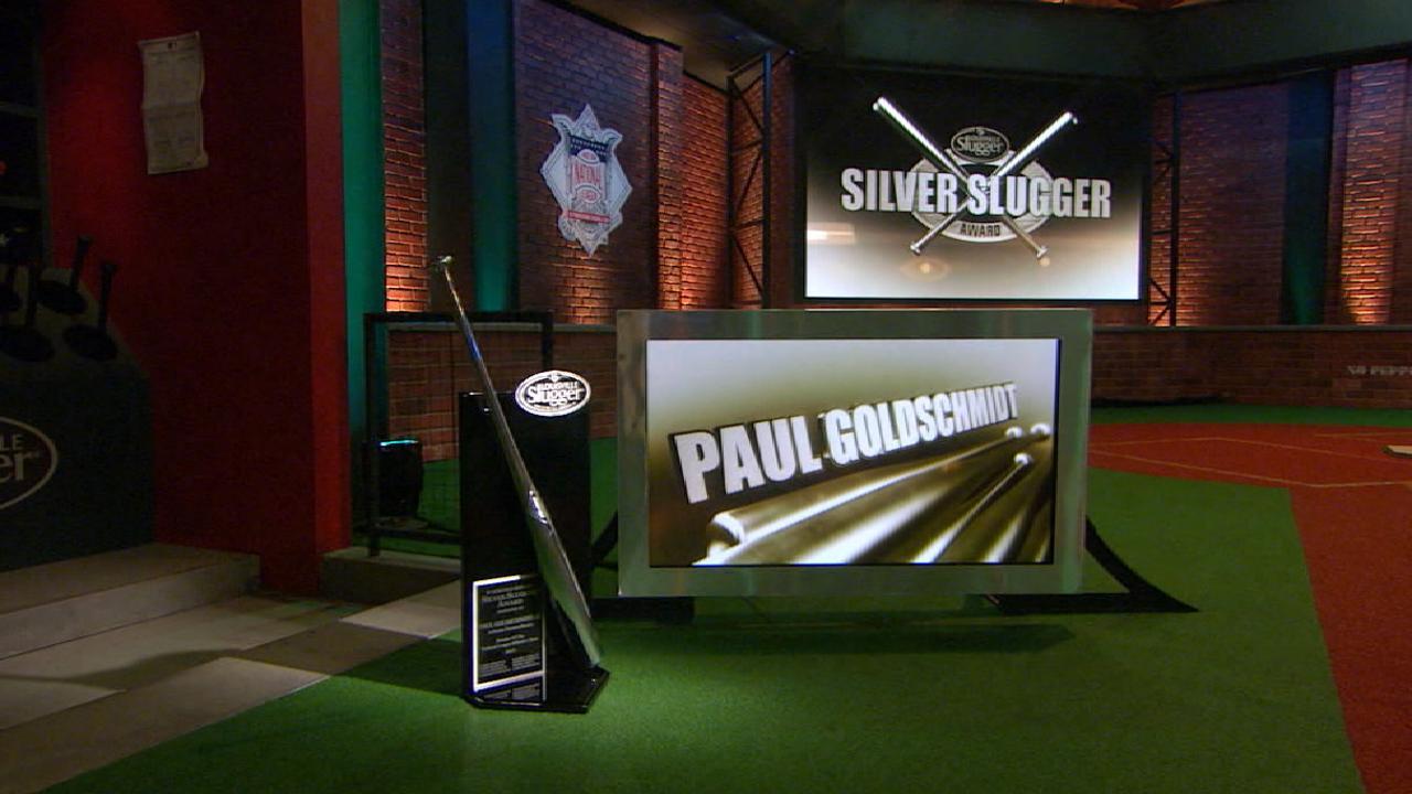 Goldschmidt claims third Silver Slugger Award