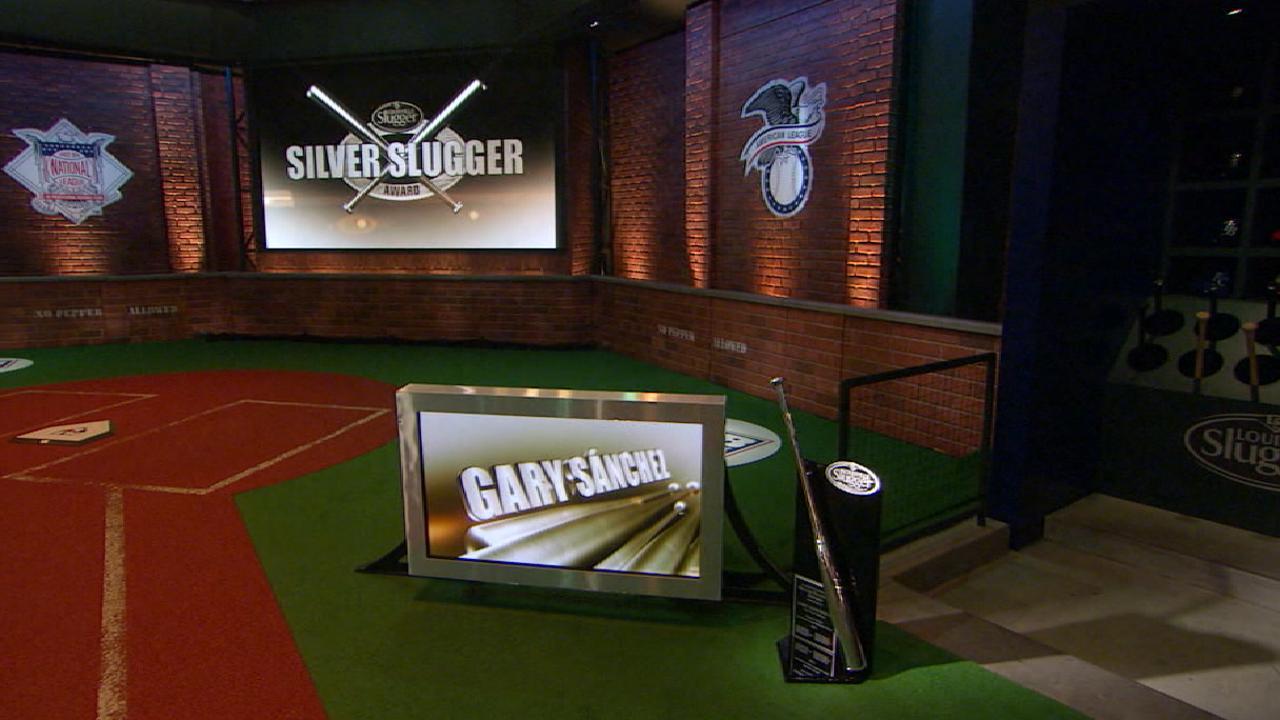 Sanchez wins Silver Slugger