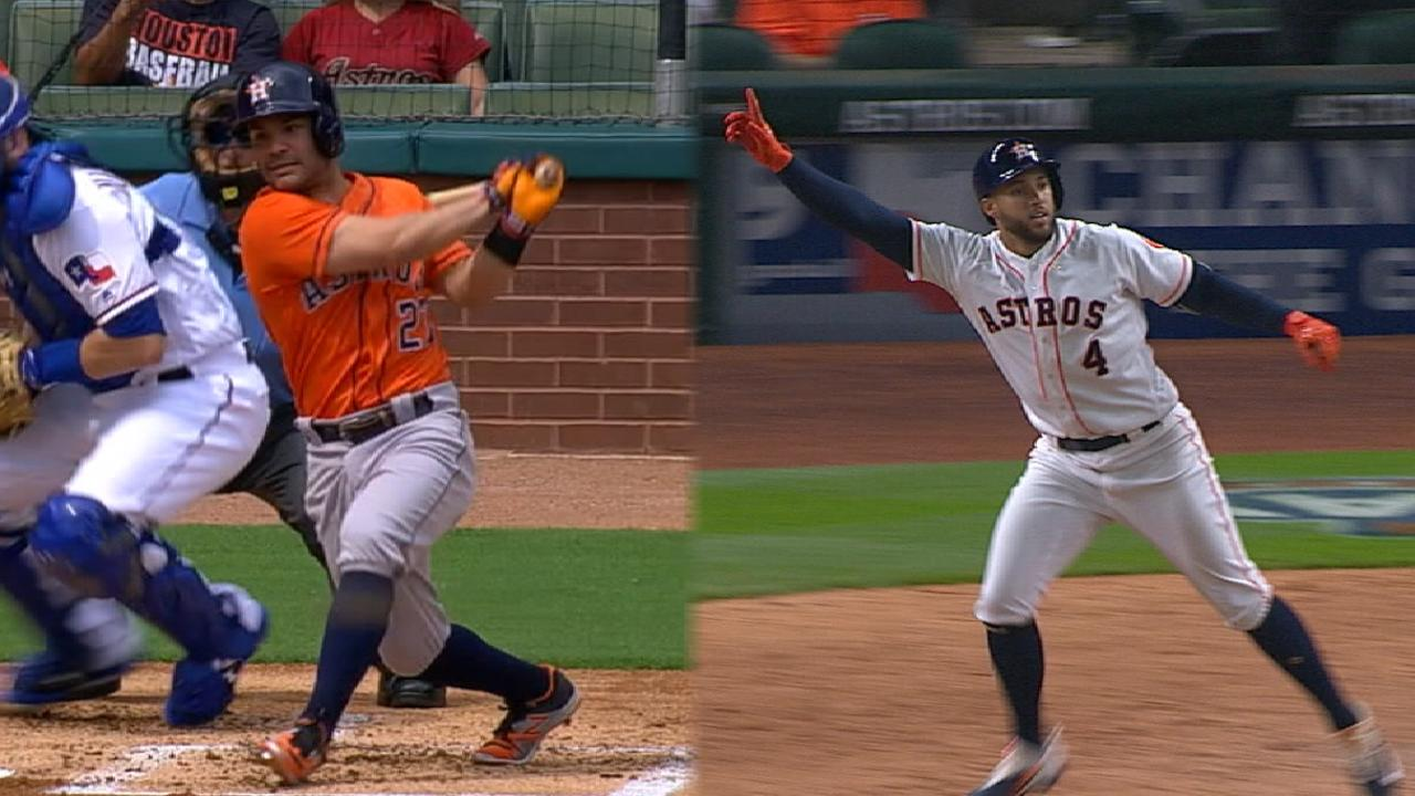 Altuve, Springer swing way to Silver Sluggers