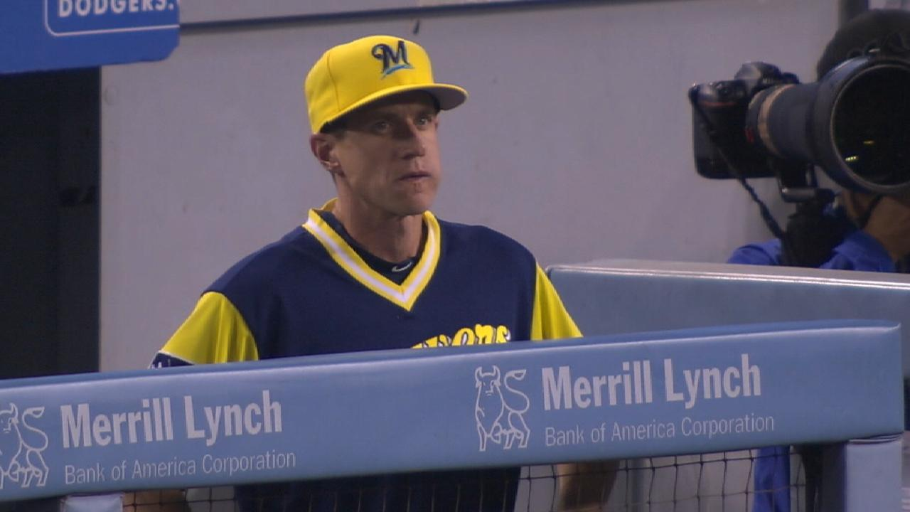 Counsell finishes 4th in Manager of Year race
