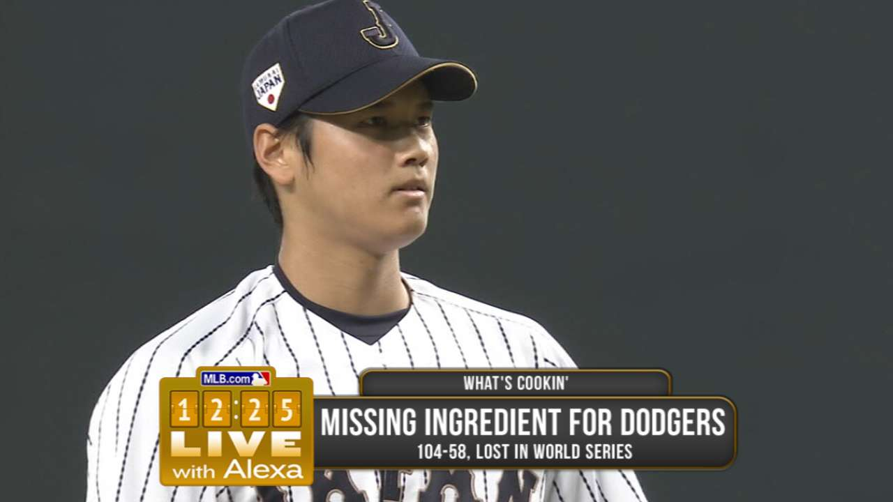 Ohtani the hot topic at GM Meetings
