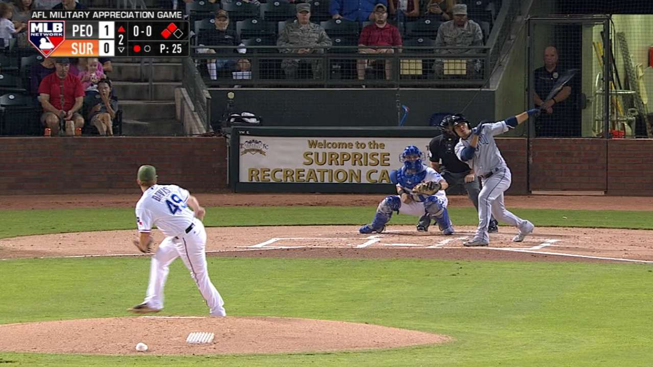 Urias' two-run double