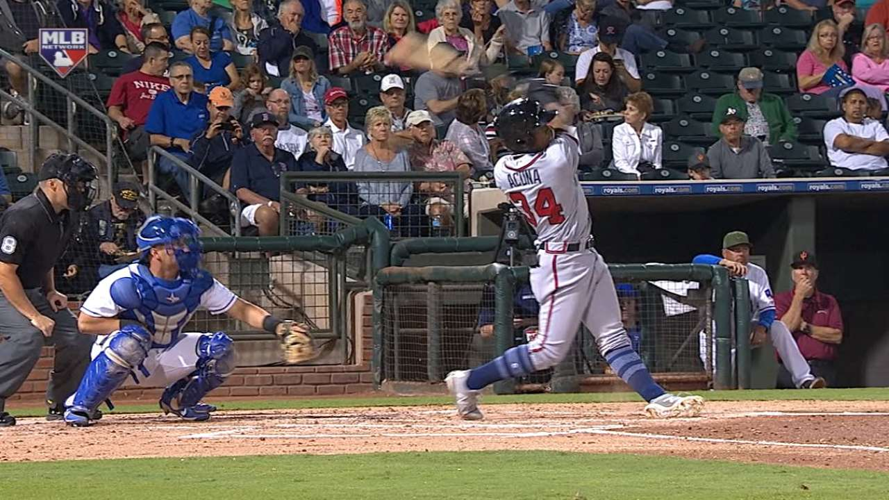 Acuna's two home runs