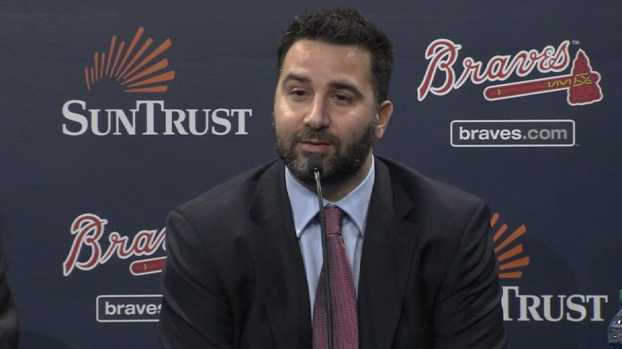 Anthopoulos humbly embraces new challenge