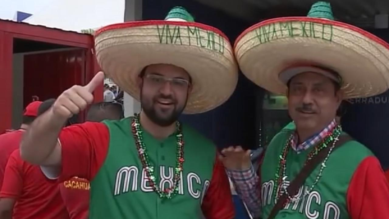 Sanchez on series in Mexico