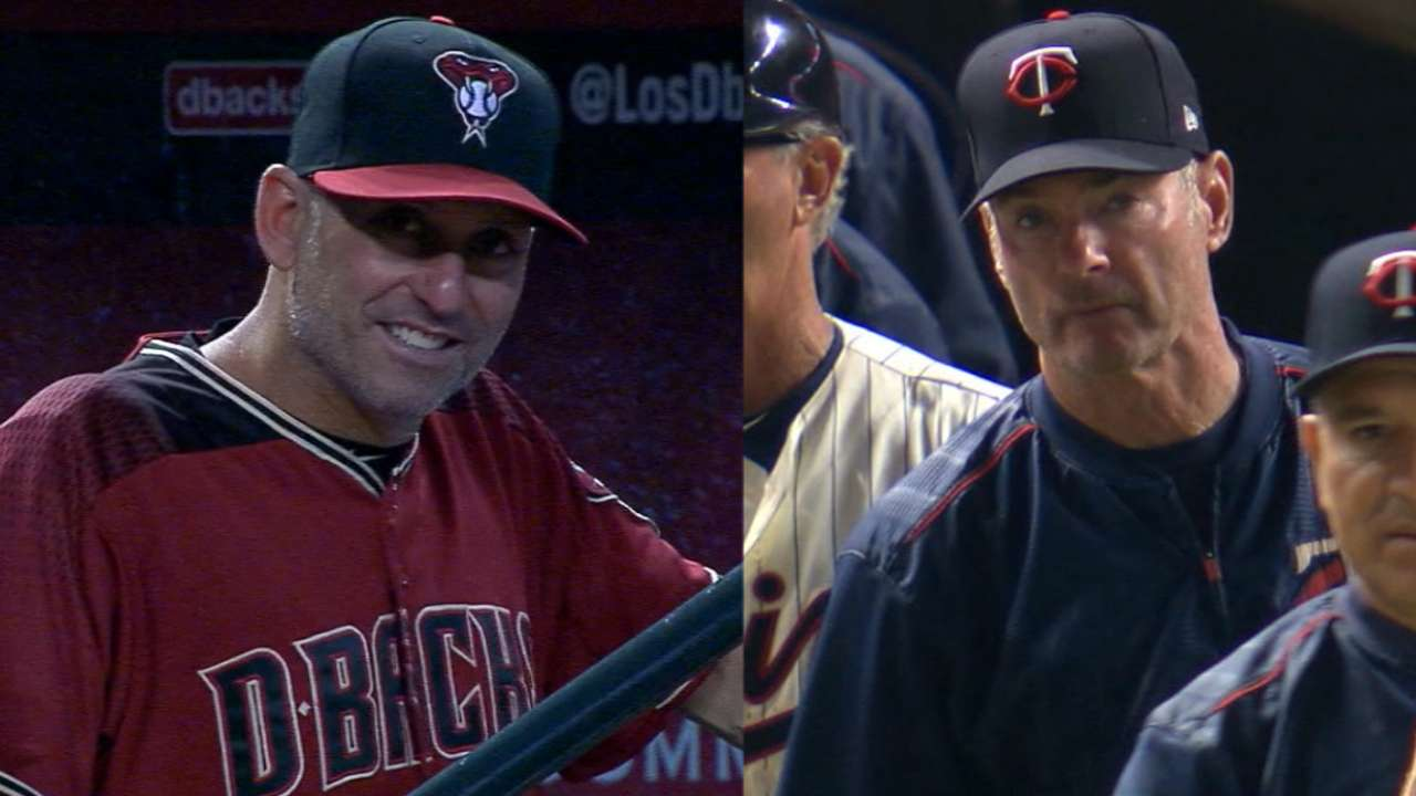 Lovullo, Molitor strong choices in crowded field