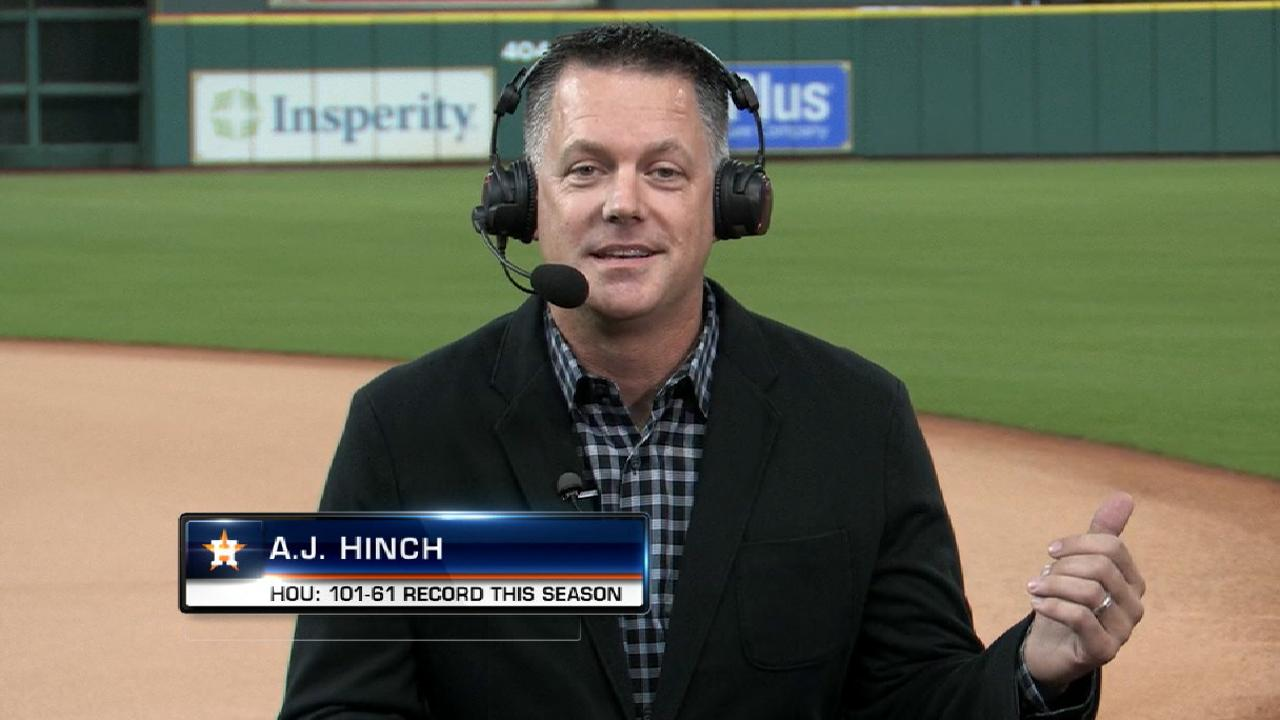 Hinch finishes 3rd in AL MOY Award vote
