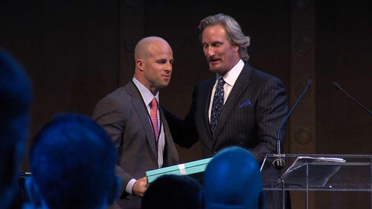 Gardner honored with Heart & Hustle Award