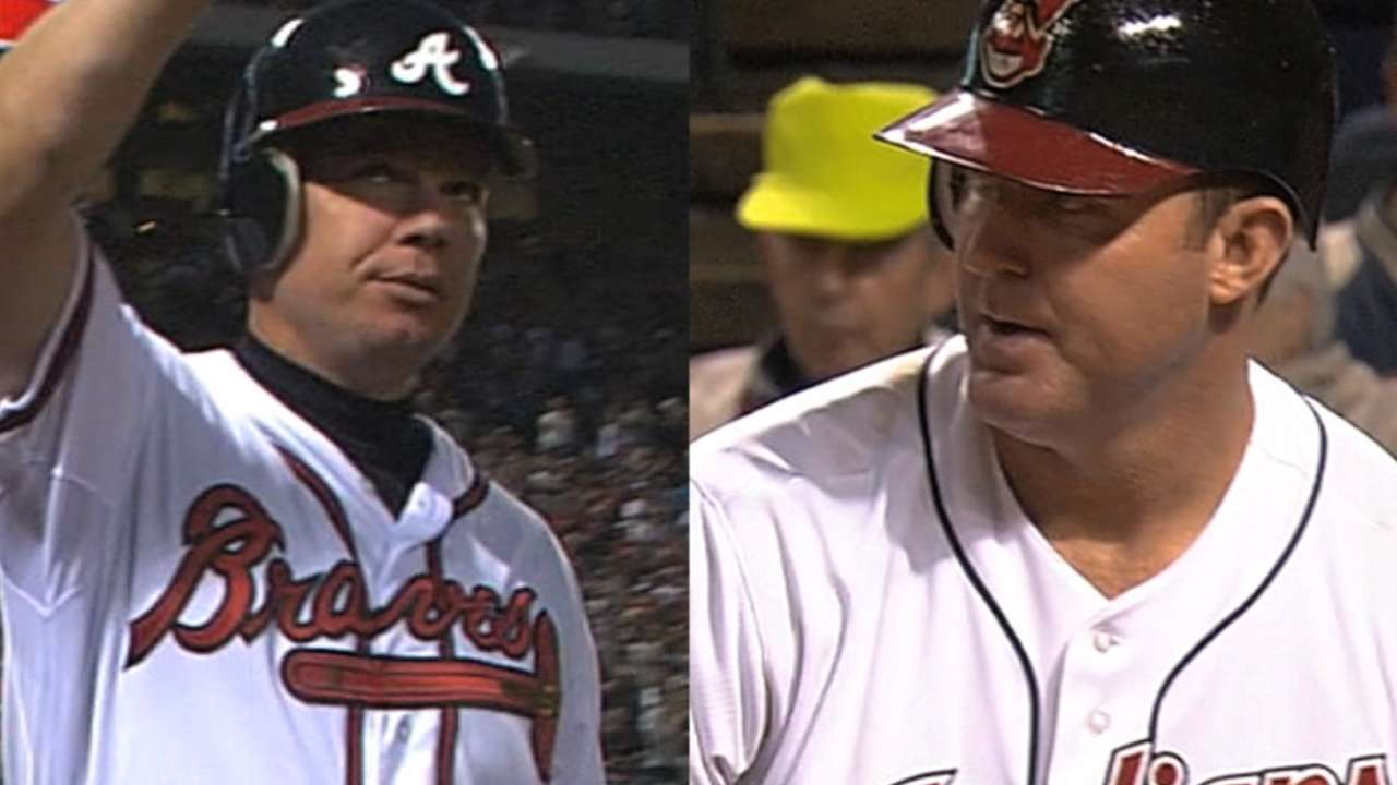 Chipper, Thome, Vizquel head HOF ballot