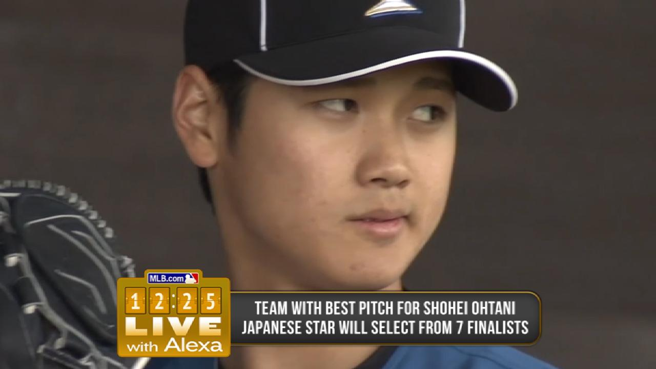 The Ohtani sweepstakes continues