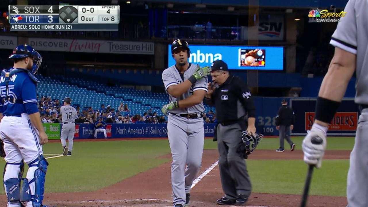 Bambinazo de Abreu decide victoria de White Sox sobre Azulejos