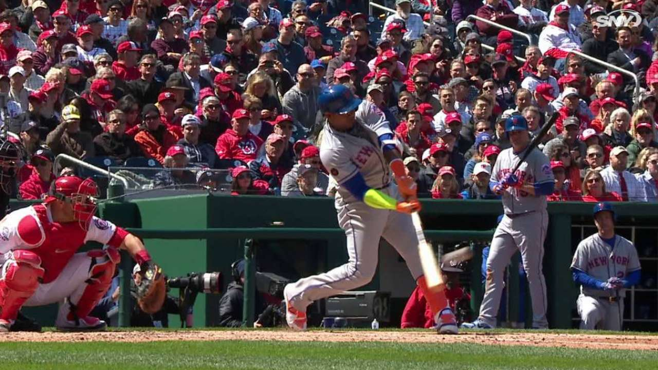 Yoenis Céspedes y los Mets le arruinan la fiesta a Washington