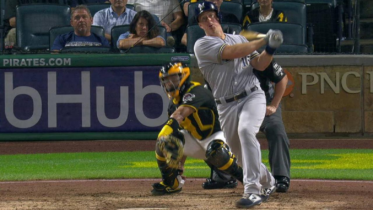 MIL@PIT: Kratz goes back-to-back with Moustakas