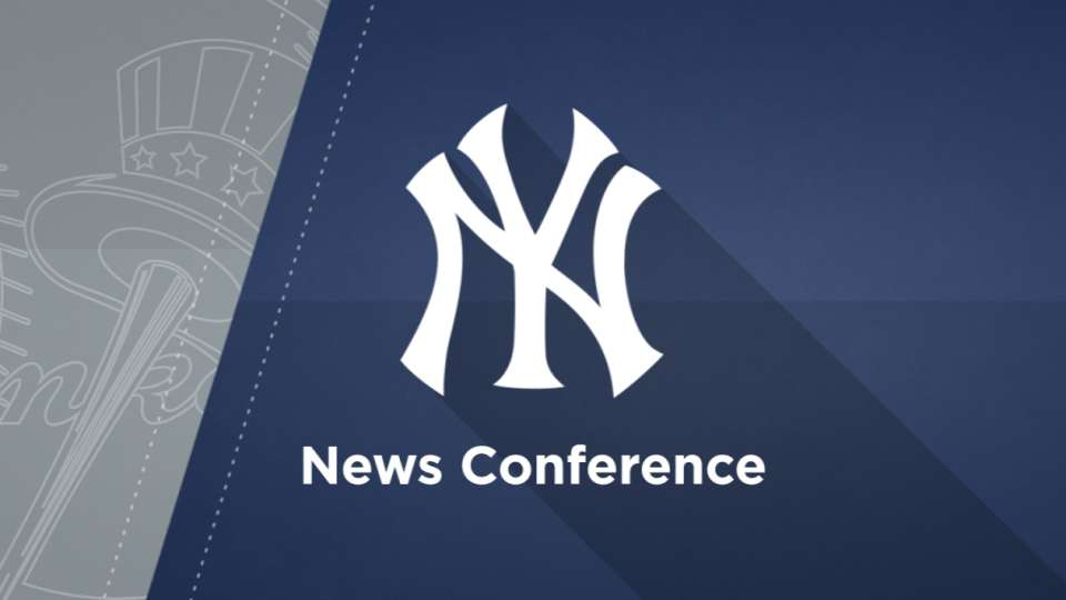 Aaron Boone News Conference