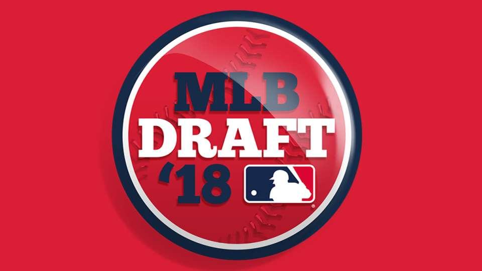 2018 MLB Draft Day 1