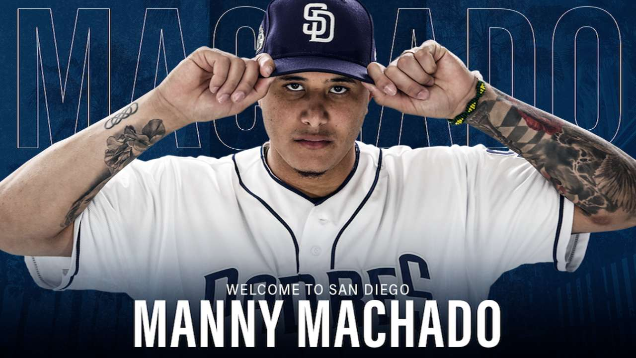 Padres Introduce Manny Machado | 02/22/2019 | MLB.com