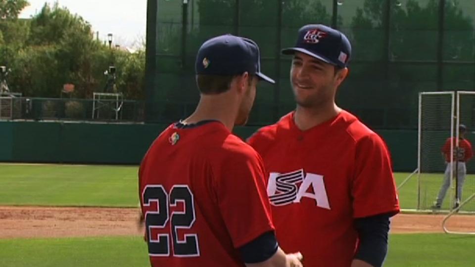 Braun, Lucroy on Team USA
