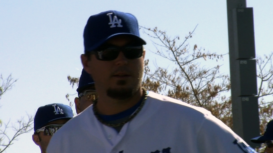 Beckett on first Dodgers camp