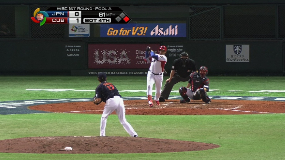Cepeda drills an RBI double