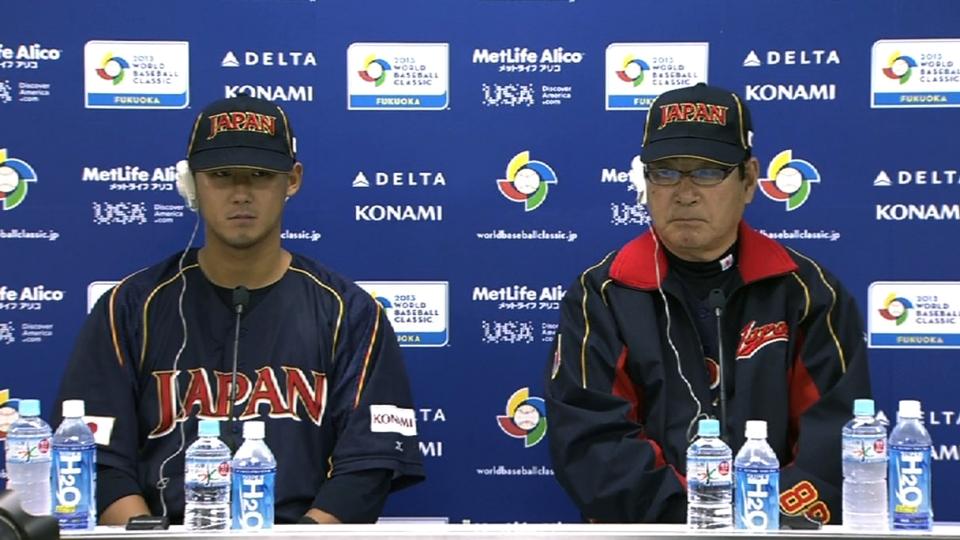 Yamamoto, Nakata on loss to Cuba