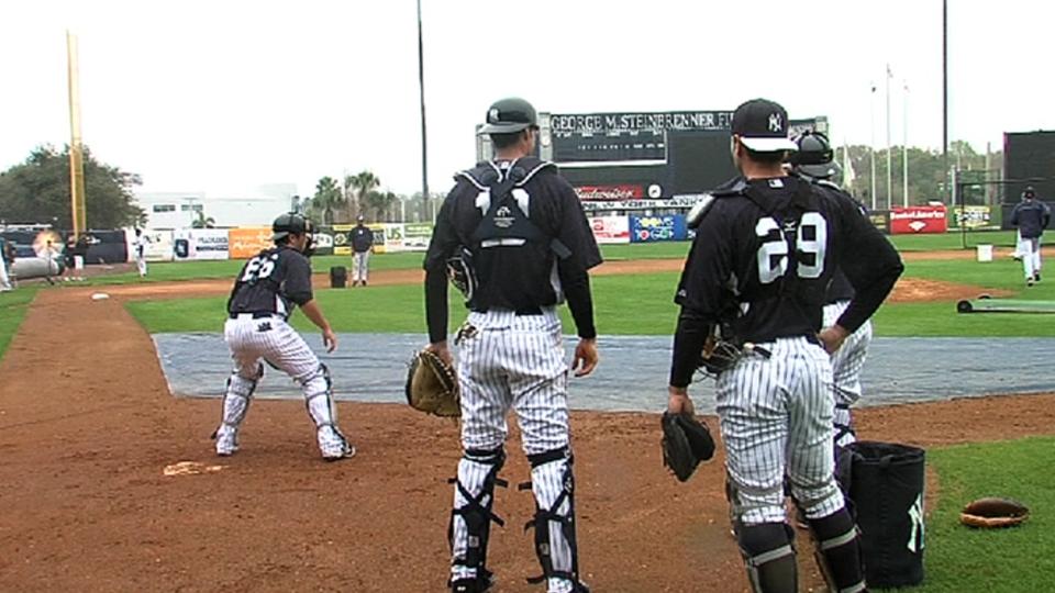 Eyeing Yanks' backstop situation