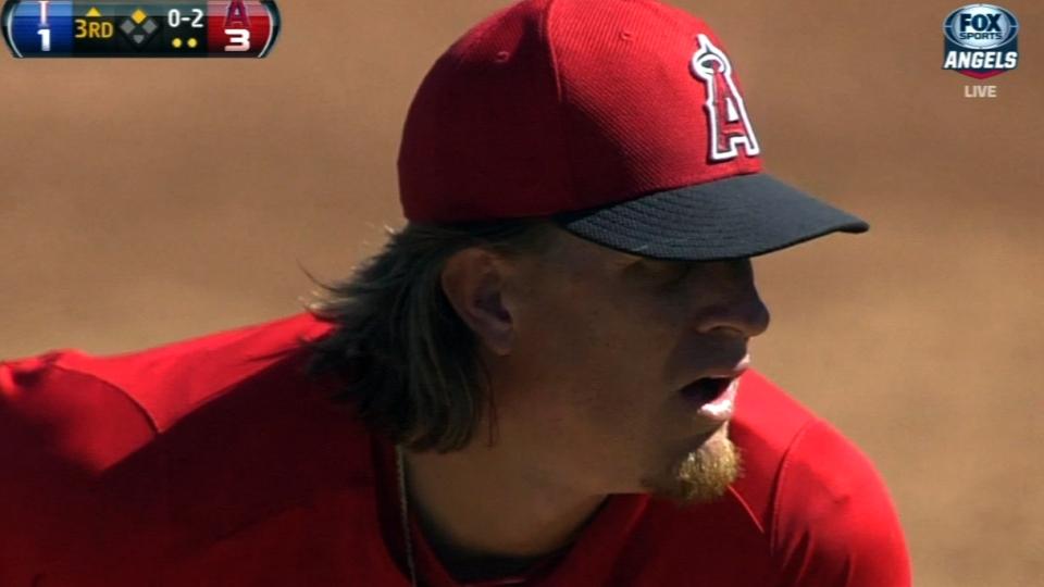 Weaver's five strikeouts