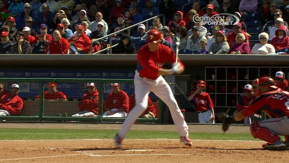 Strasburg plunks Utley