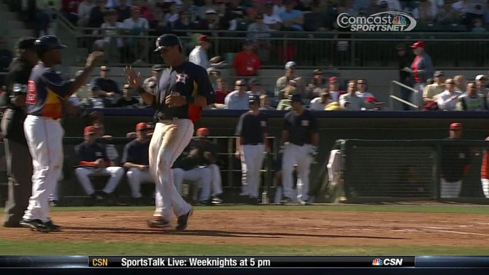 Castro's two-run single