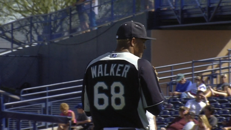 Walker earns win in relief