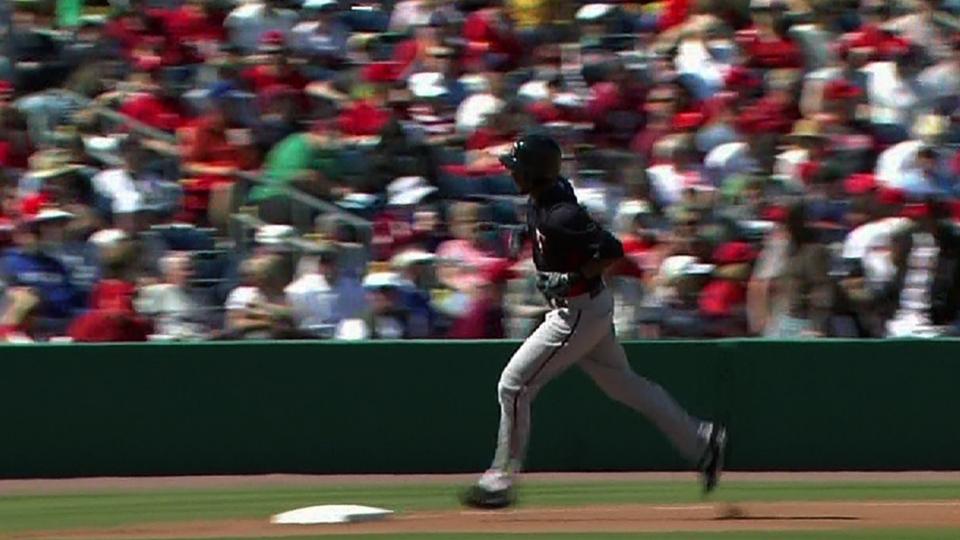 Hicks' three-homer game