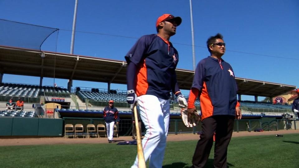 MLB Network visits Astros camp