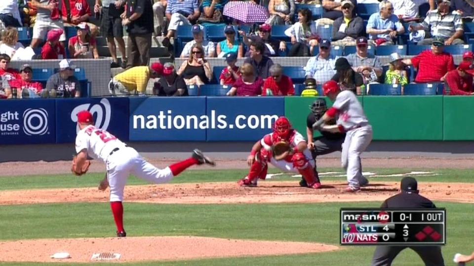 Johnson's two-run double