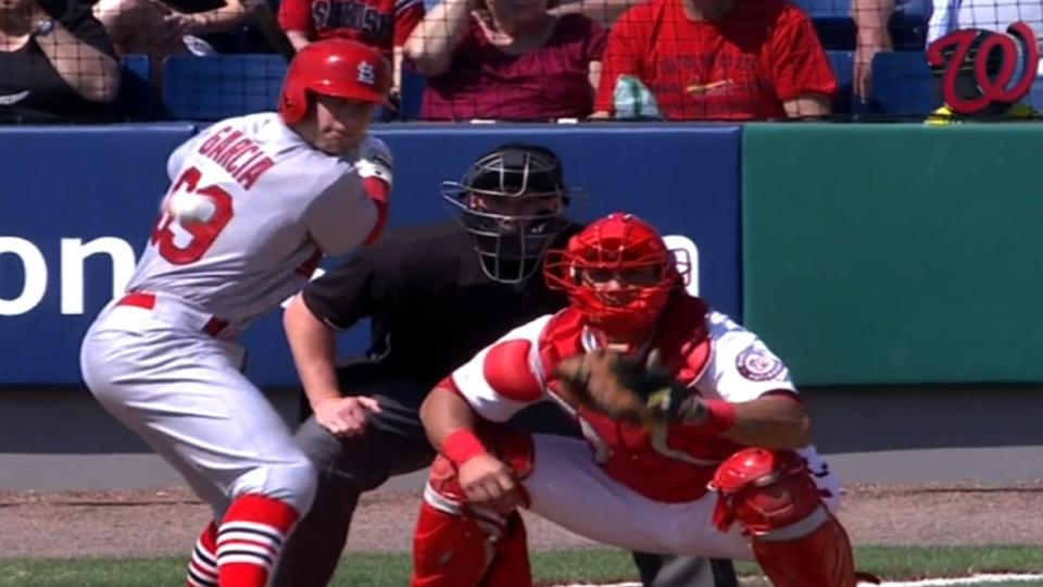 Cardinals' six-run third