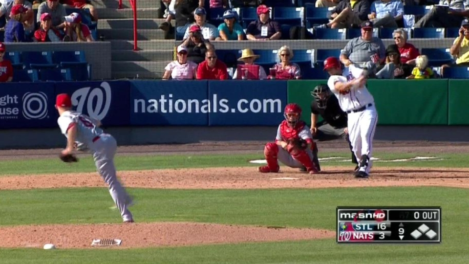 Owings' solo home run