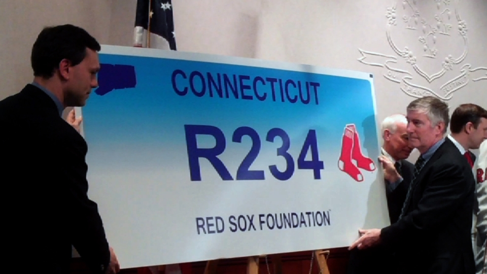 Sox plates coming to Connecticut