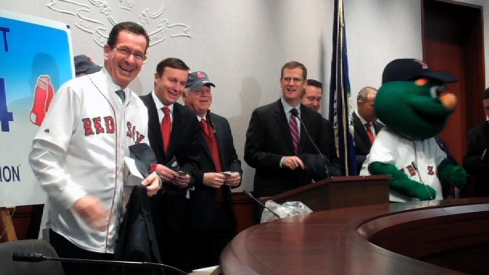 Sox try to recruit CT governor