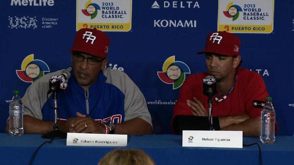 Rueda de prensa con Puerto Rico