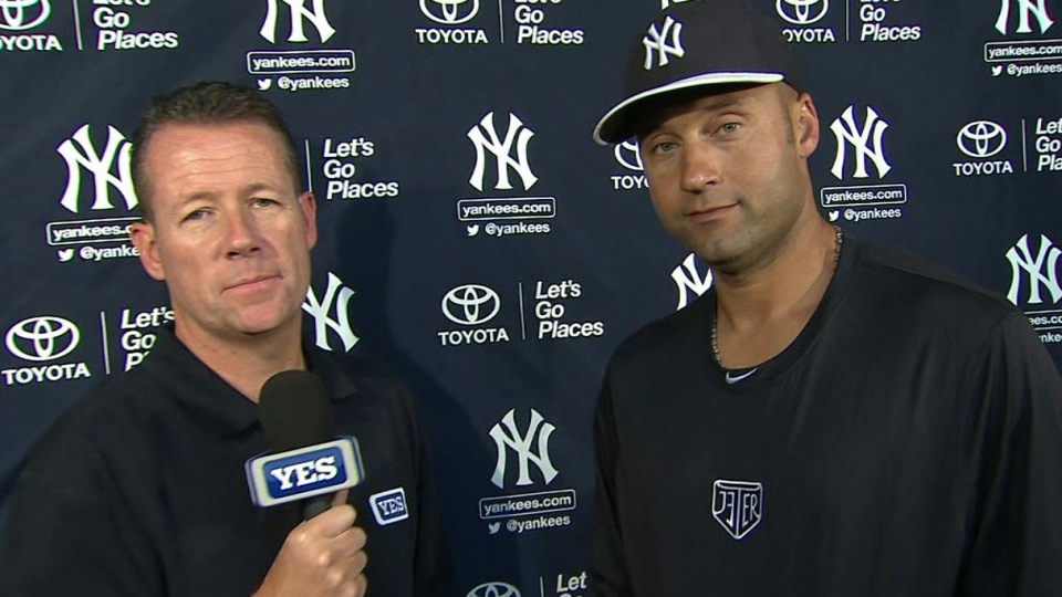 Jeter on debut, Mo's retirement