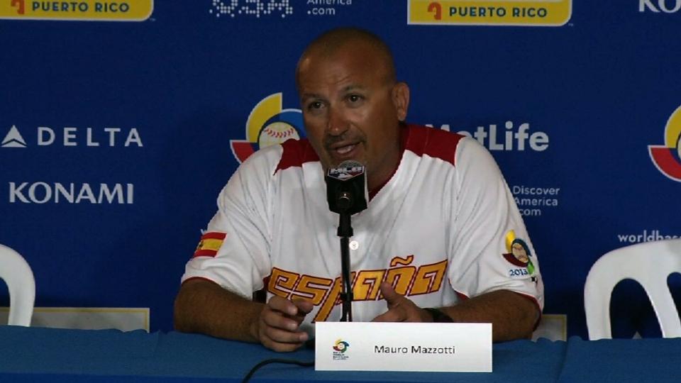 Mazzotti on Spain's loss