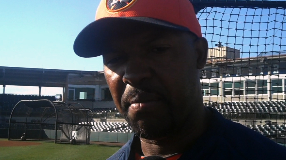 Porter, Luhnow on roster moves