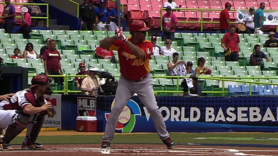 Canizares' two-run shot