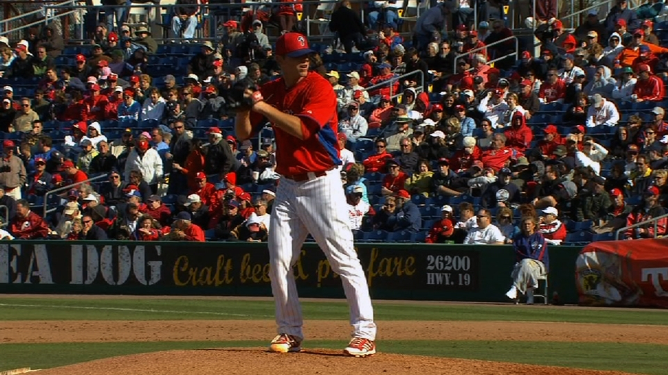 DeFratus pitches the eighth