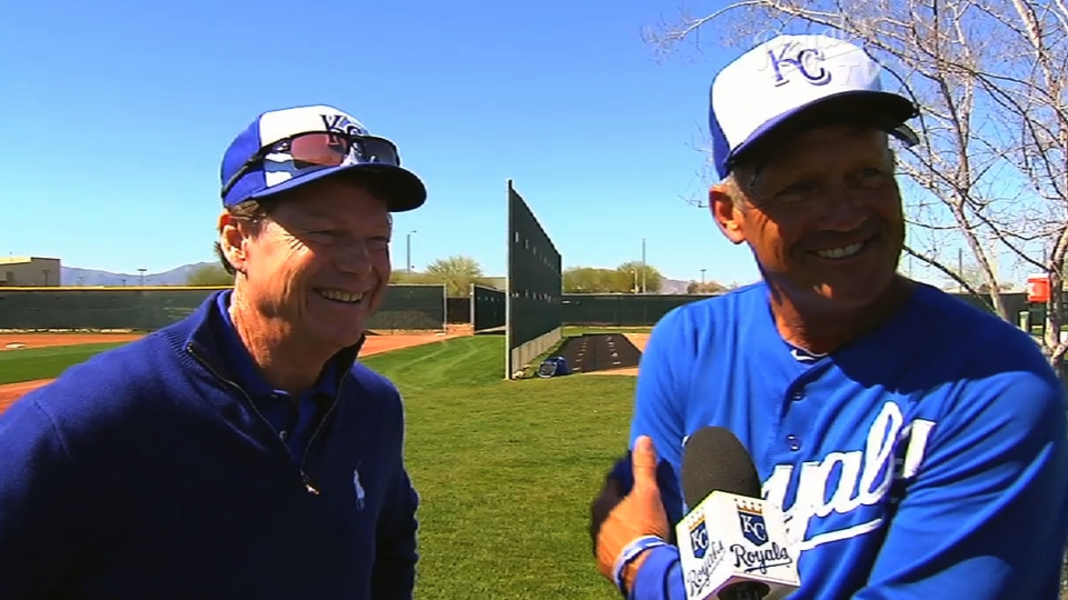 Watson, Brett at Royals camp